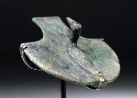 Greek Archaic Bronze Attachment - Duck Motif