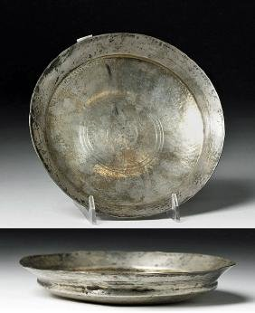 Exceptional Greek Silver Phiale