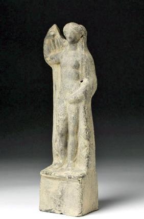 Greek Hellenistic Terracotta Aphrodite Votive