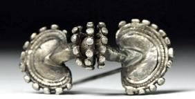 6th C. Ostrogothic / Frankish Silver Fibula