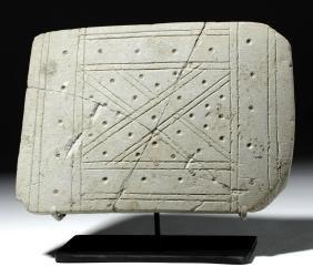"Valdivian Limestone Plank ""Star Chart"""