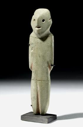 Mezcala Green Stone Standing Figure