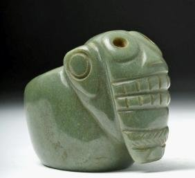 Remarkable Costa Rican Green Stone Mace Head