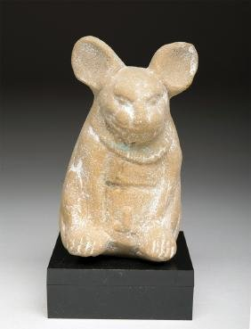 Mayan Terracotta Ocarina - Rabbit Form