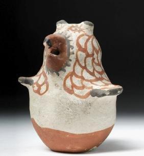 Acoma Pottery Votive Owl - Ex Denver Art Museum