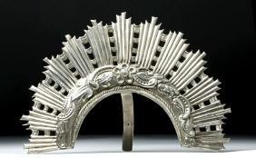 Bolivian Sterling Silver Diadem - Ex Historia