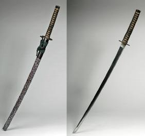 17th C. Japanese Samurai Sword W/ Signed Blade