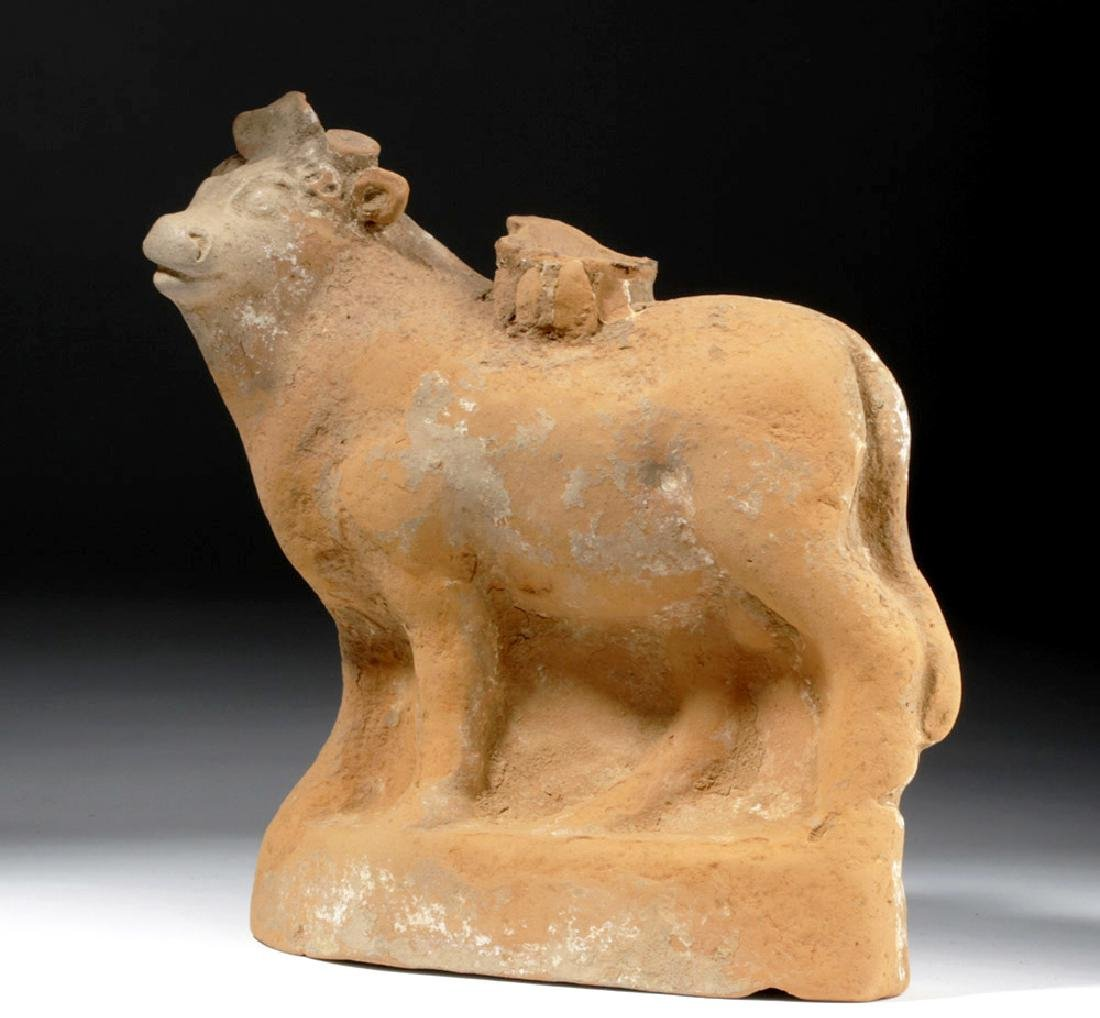 Large Romano Egyptian Redware Apis Bull, ex-Museum