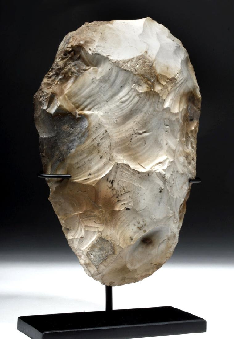 Large/Impressive Acheulean Stone Hand Axe - UK Find