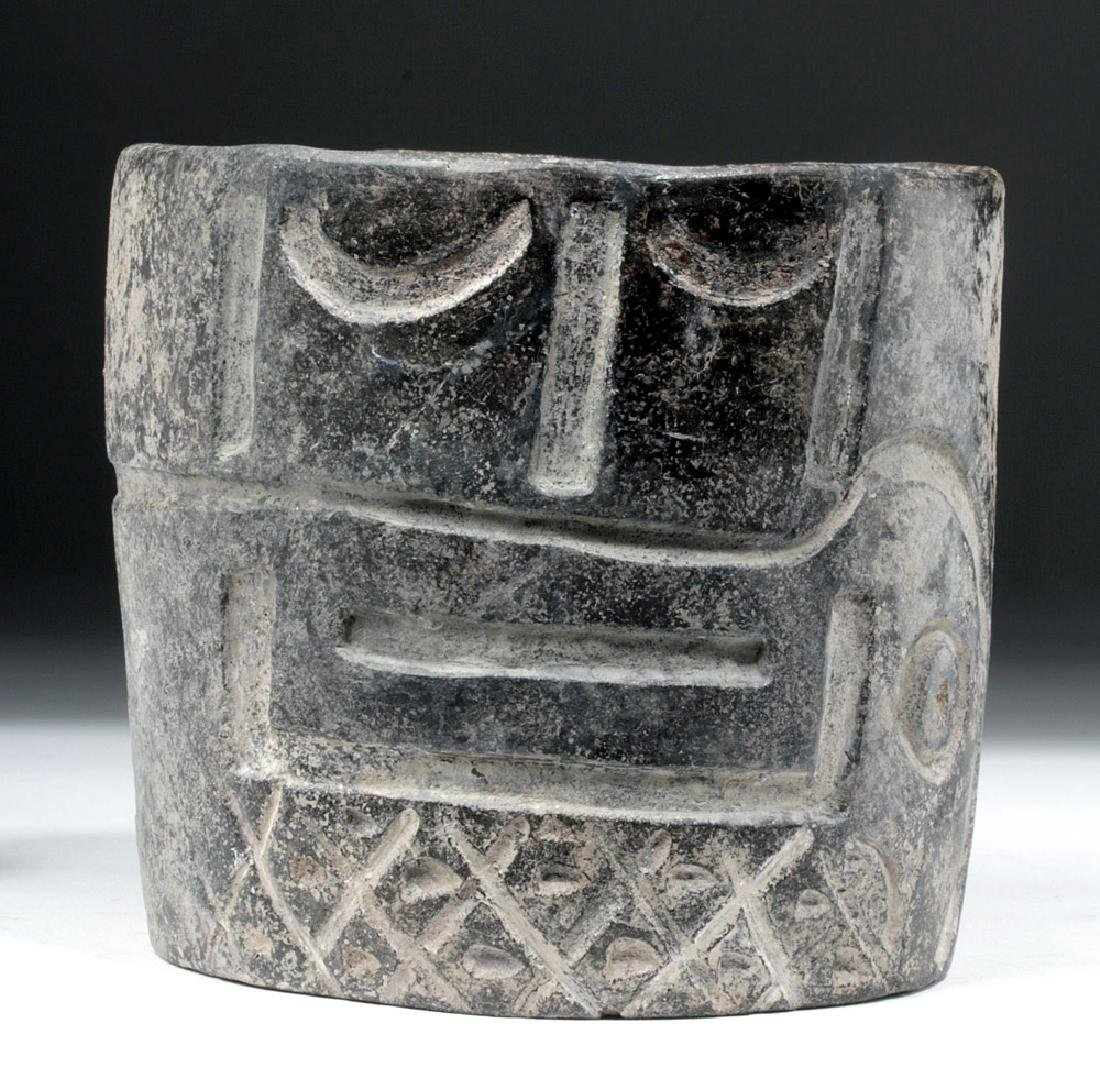 Very Fine Olmec Greyware Decorated Cup