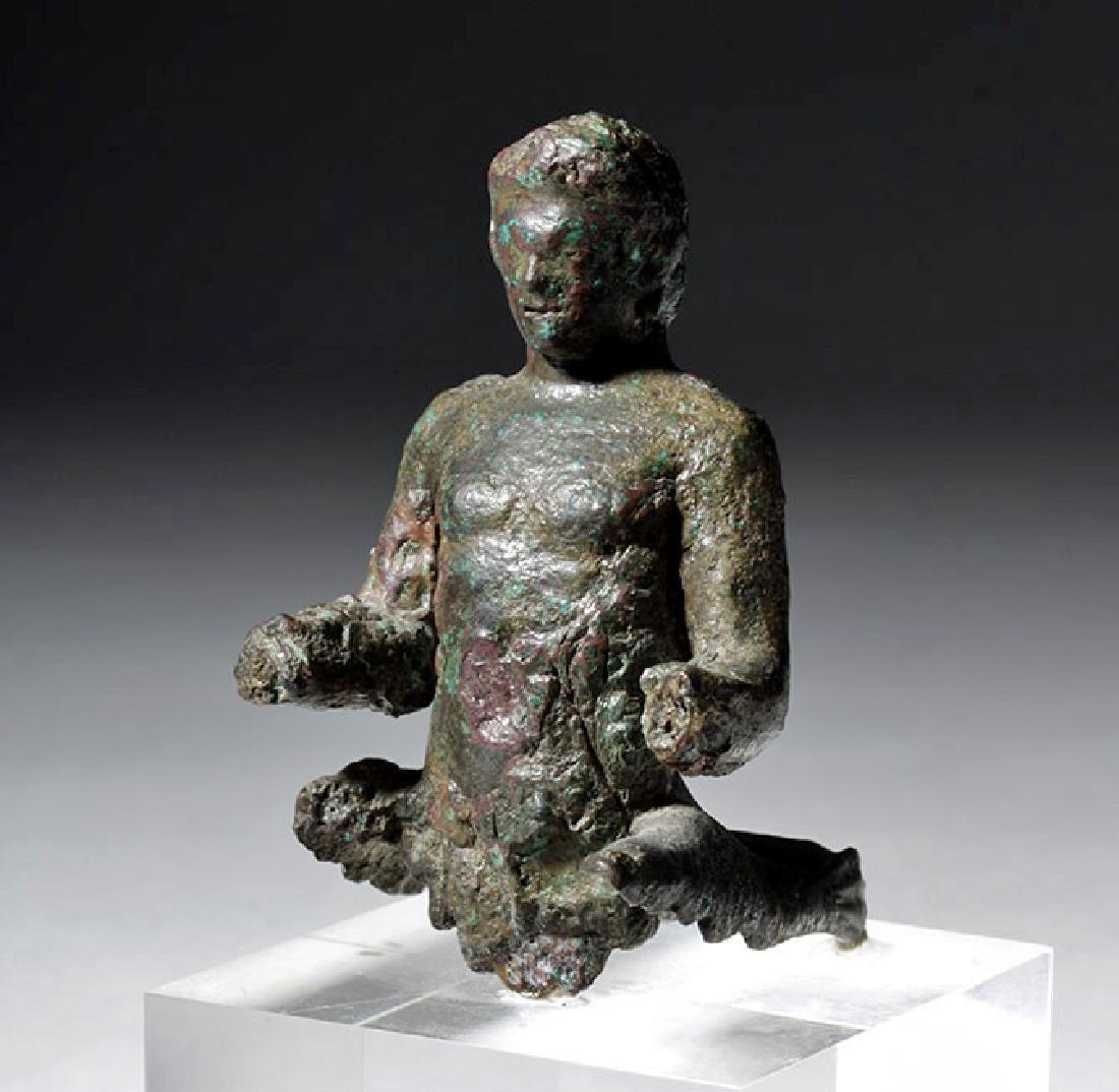 Rare Roman Bronze Centaur / Satyr Torso