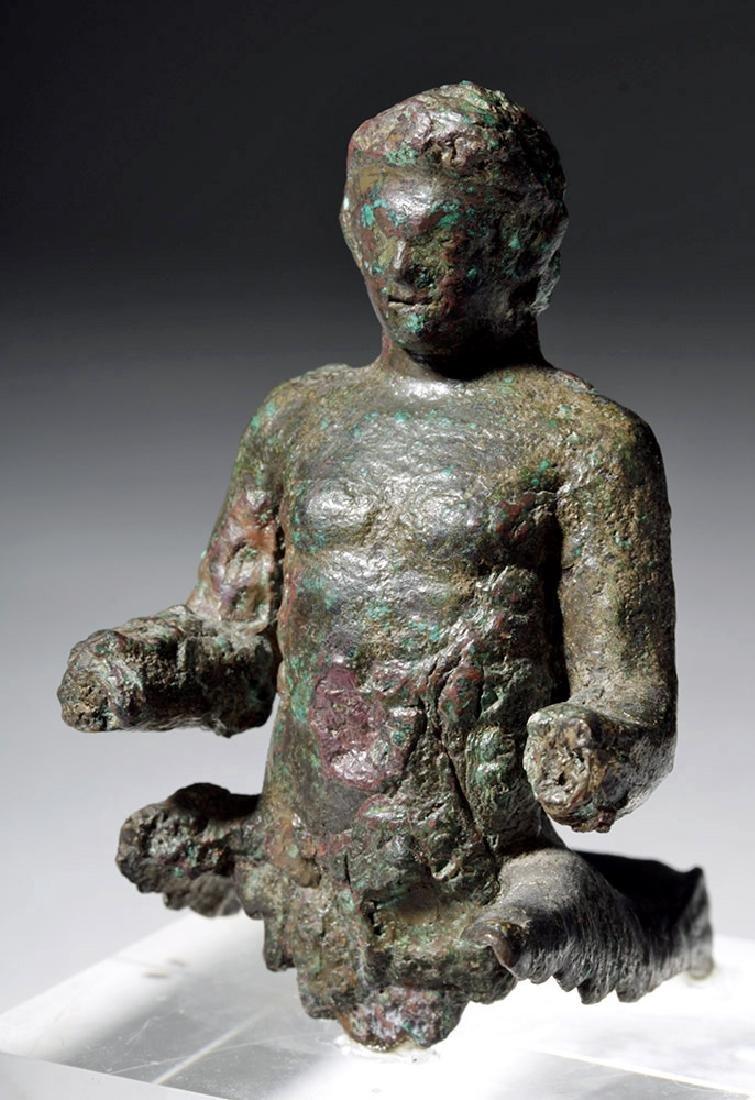 Rare Roman Bronze Centaur / Satyr Torso - 4