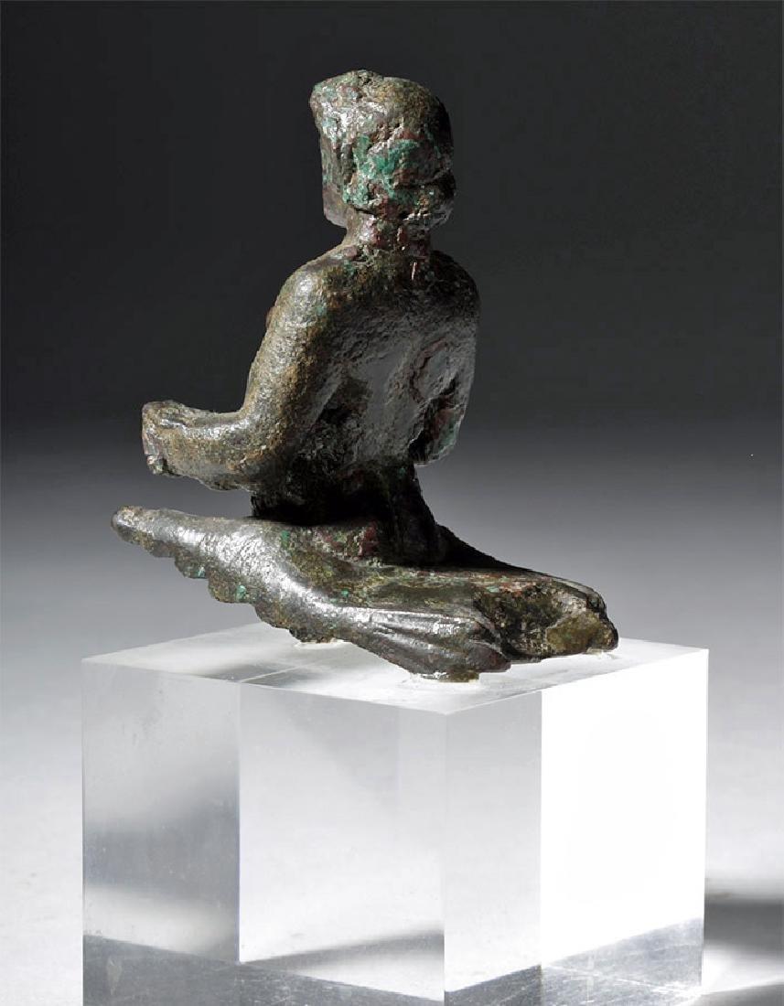 Rare Roman Bronze Centaur / Satyr Torso - 5