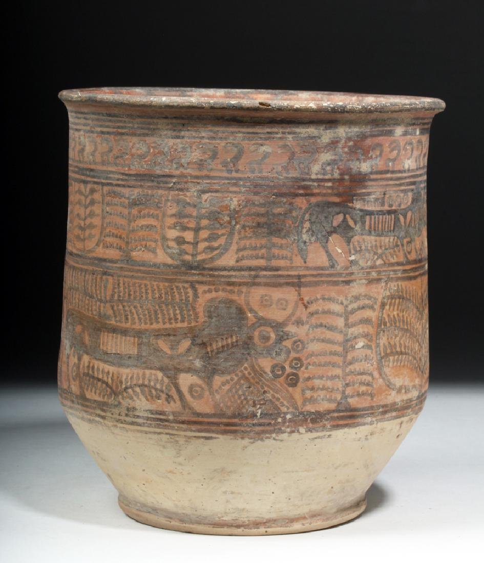 Indus Valley Painted Redware Jar - Bulls - 4