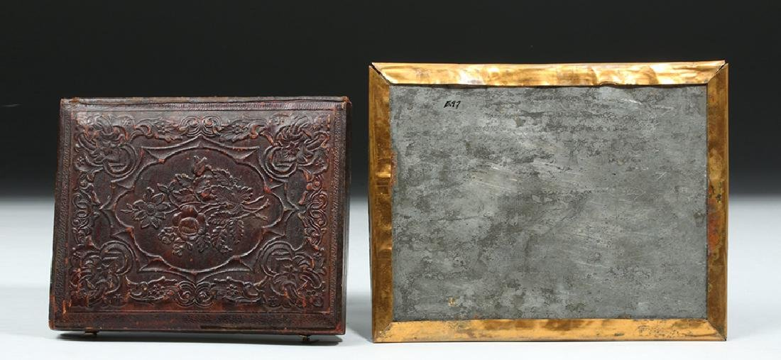 19th C. American Two Ambrotypes w/ Horses - 6