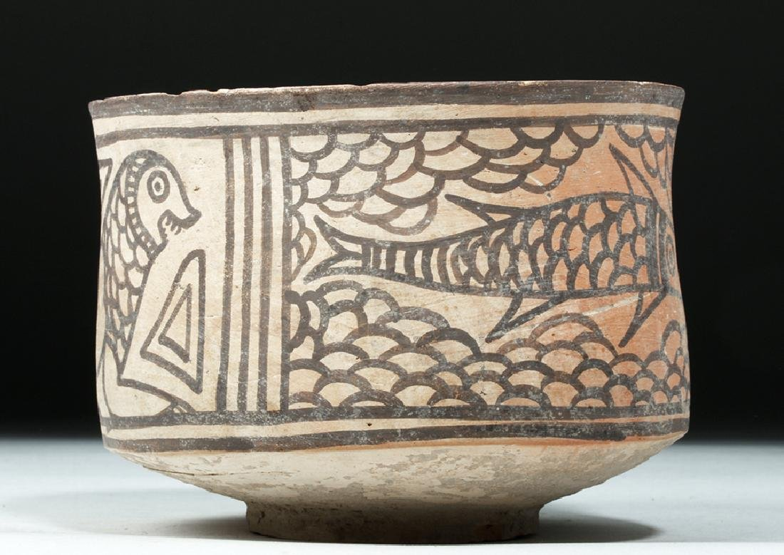 Indus Valley Bi-chrome Bowl w/ Lion & Fish - 2