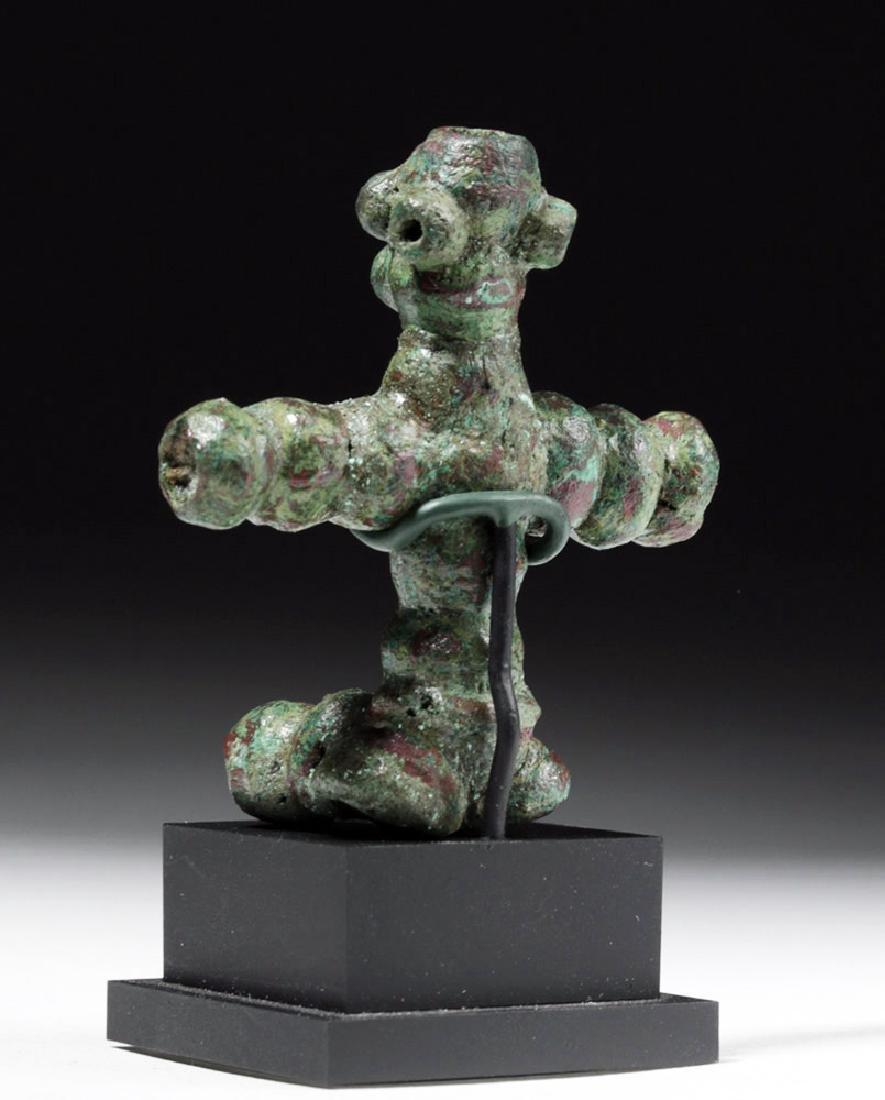Rare Anatolian Anthropomorphic Bronze Idol - 2