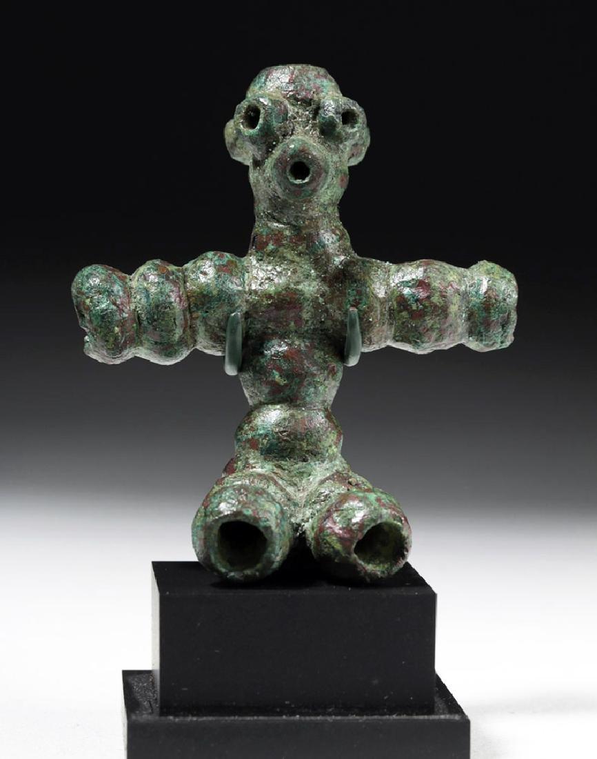 Rare Anatolian Anthropomorphic Bronze Idol - 5