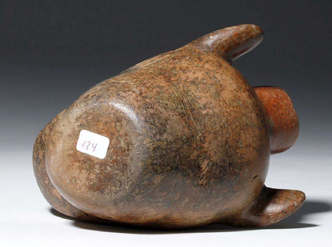 Colima Redware Vessel - Dog Head Form - 8