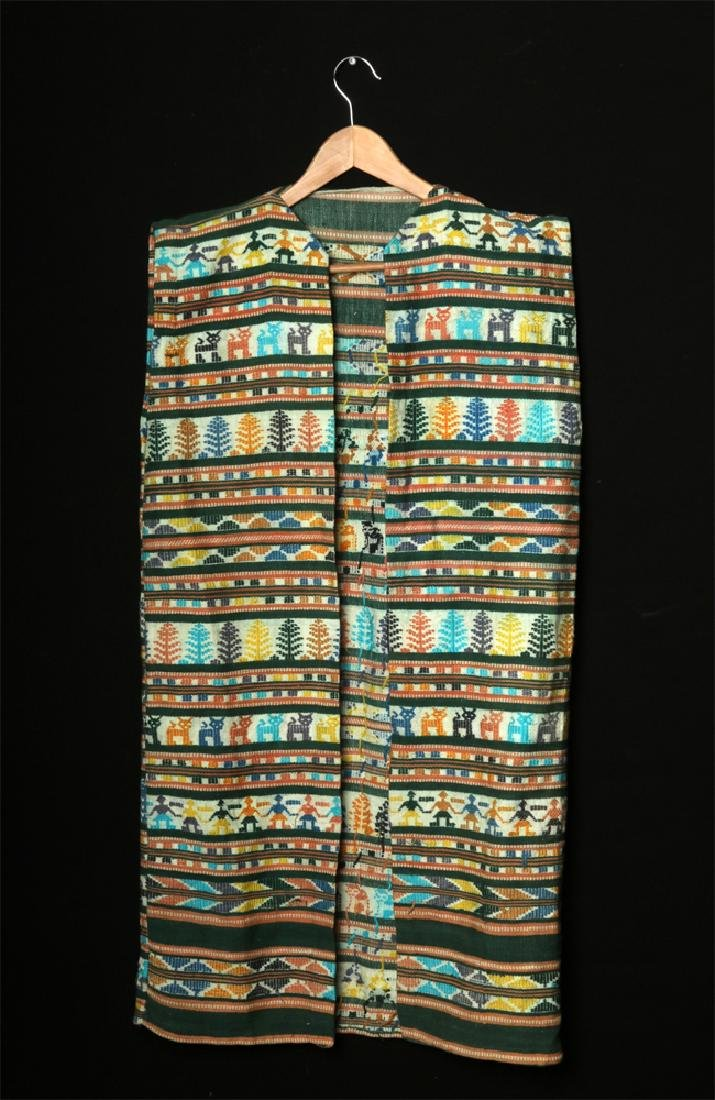 Early 20th C. Mexican Woven Textile Serape / Garment - 2