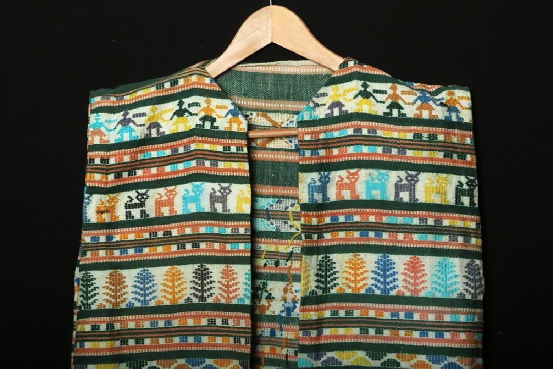 Early 20th C. Mexican Woven Textile Serape / Garment - 3