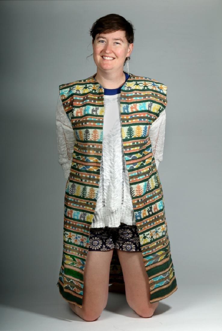 Early 20th C. Mexican Woven Textile Serape / Garment - 5