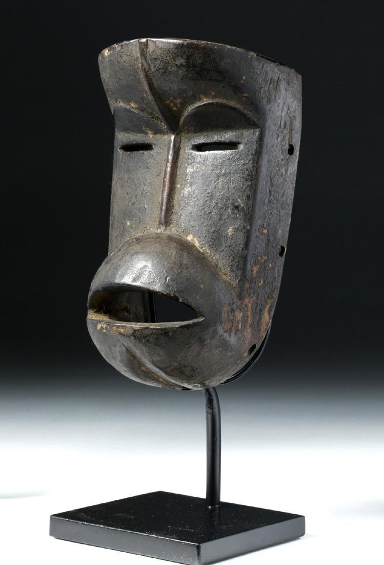 20th C. African Dan / We-Guere Wood Passport Mask