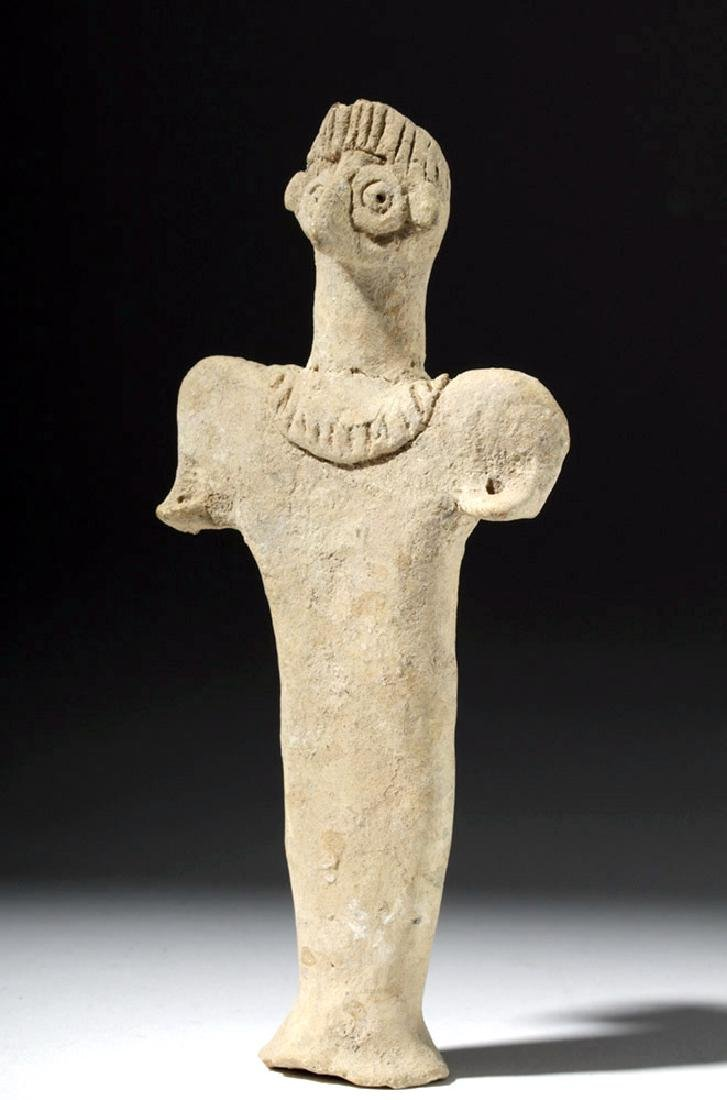 Syro-Hittite Pottery Astarte Figure