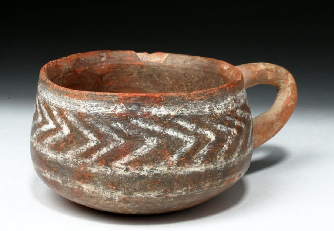 Rare Minoan Single-Handled Earthenware Cup