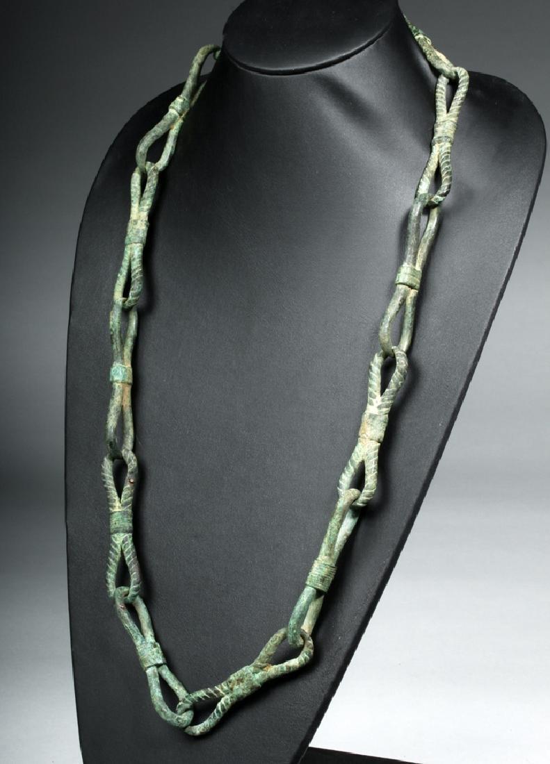 Rare Roman Bronze Chain