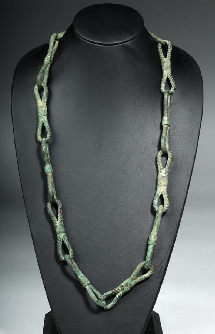 Rare Roman Bronze Chain - 2