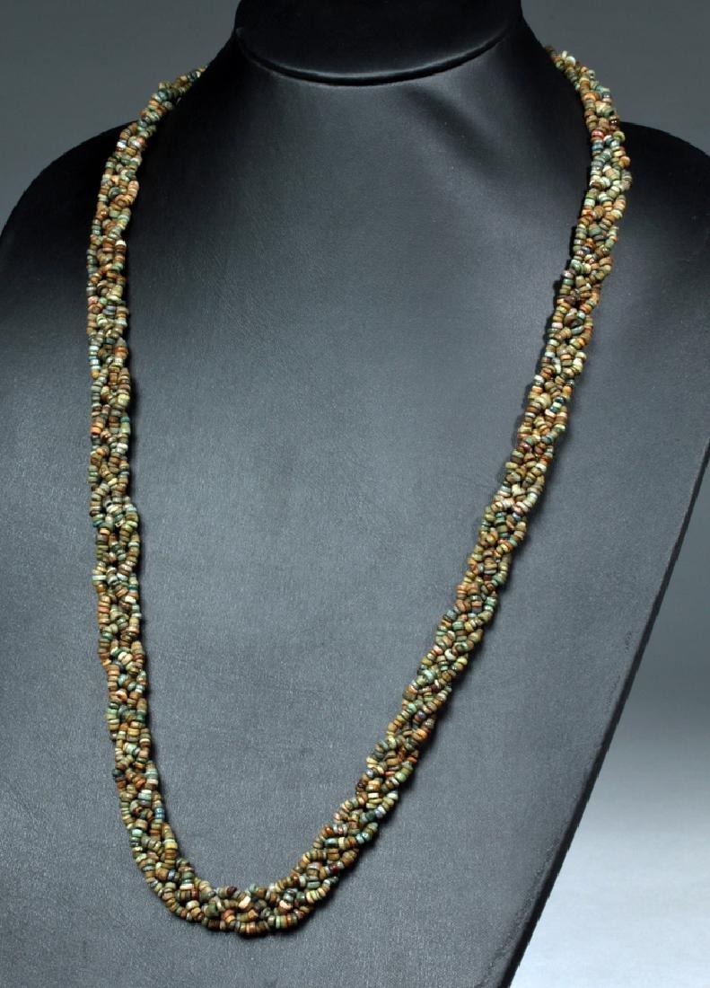 Stunning Egyptian Faience Beaded Necklace
