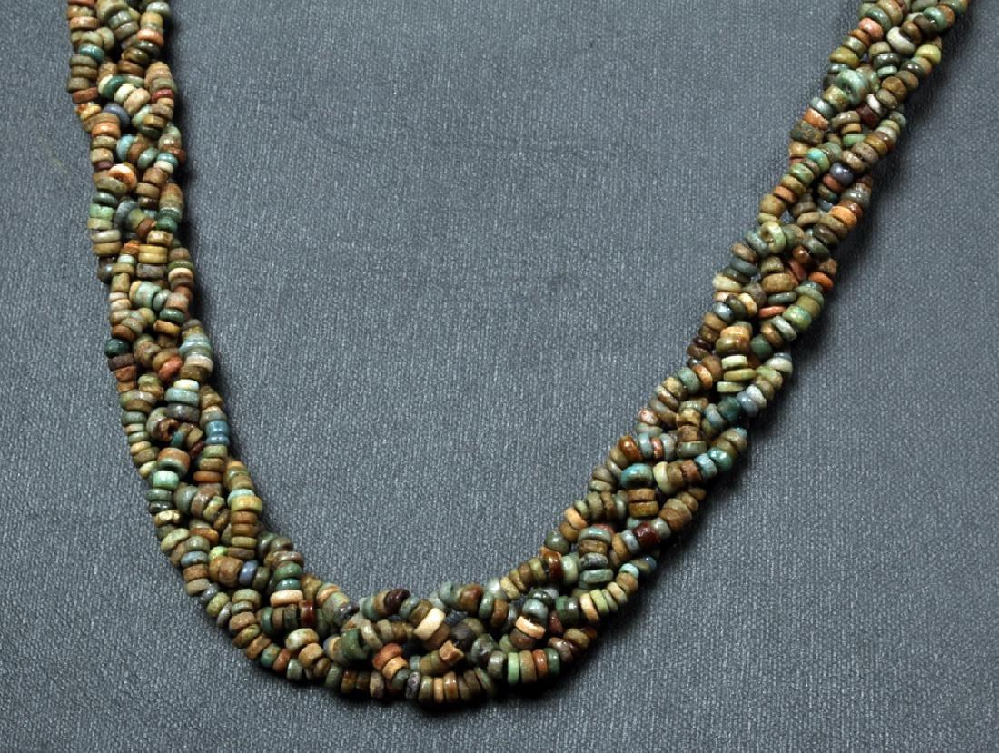 Stunning Egyptian Faience Beaded Necklace - 2