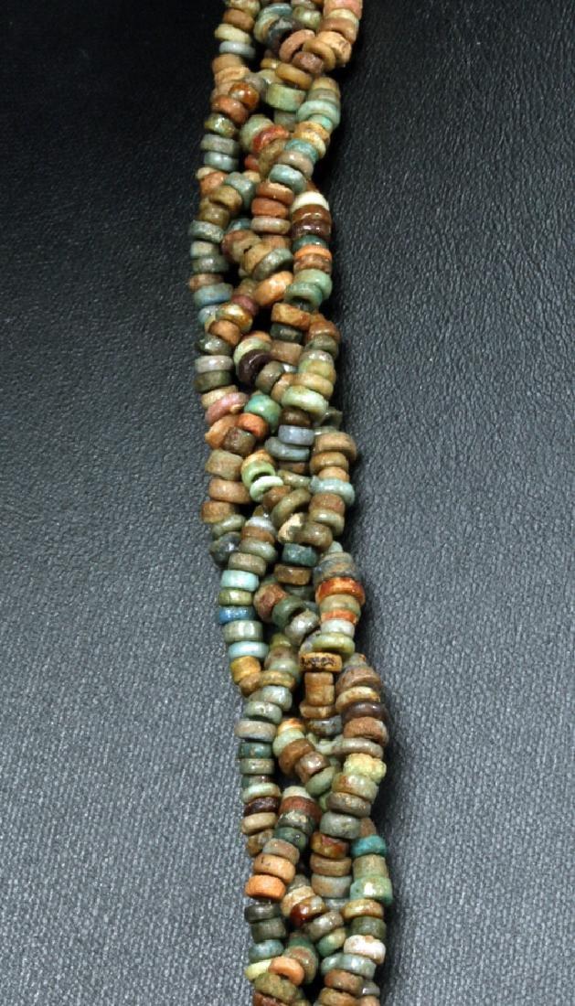 Stunning Egyptian Faience Beaded Necklace - 3