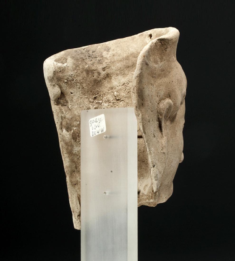 Fine Archaic Greek Earthenware Protome of Goddess - 4