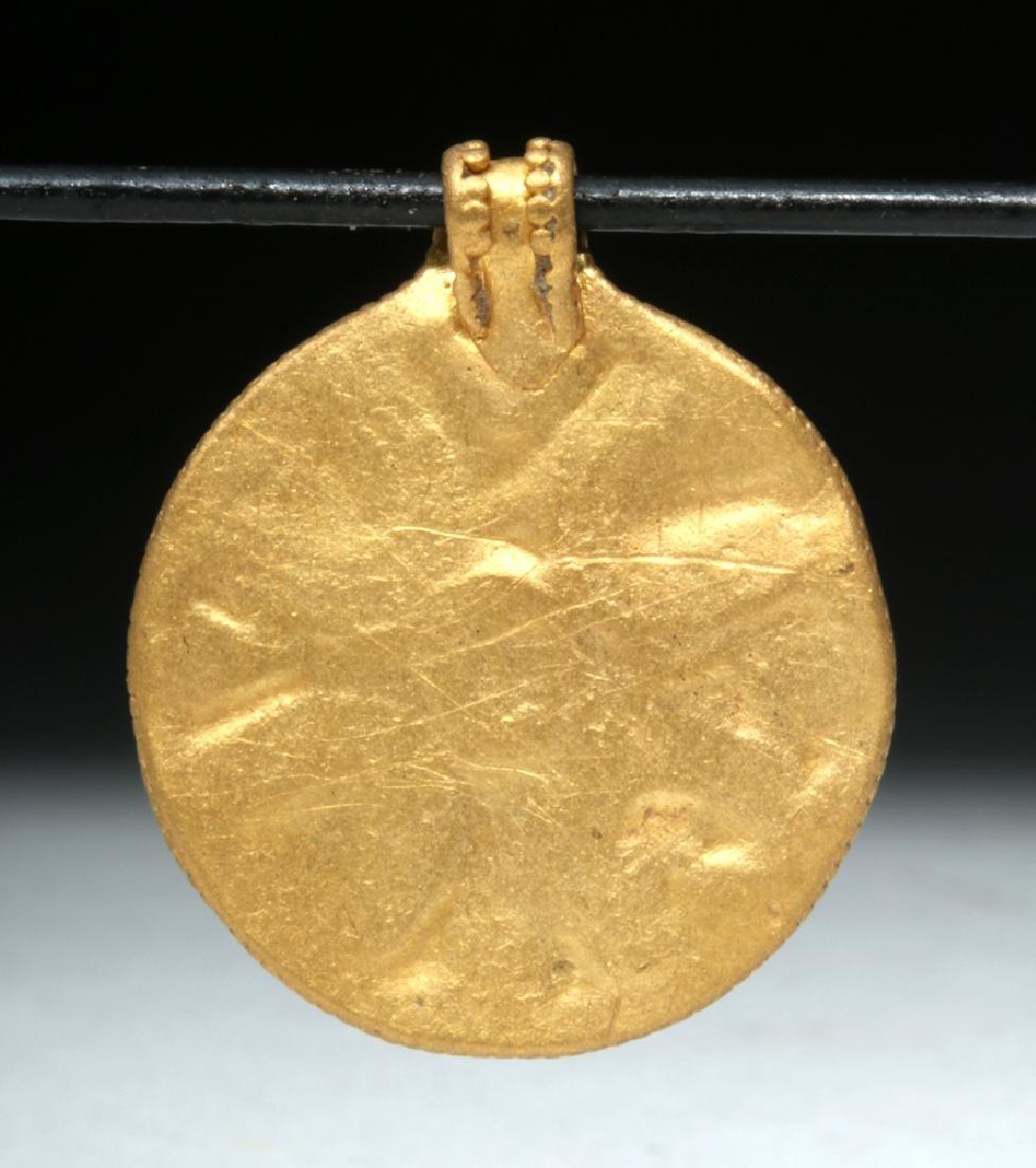9th C. Viking 24K Gold Filigree Pendant - 3.9 g - 3