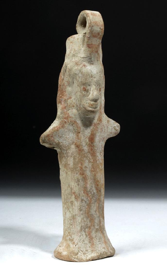 Early Boeotian Pottery Idol - 6th C. BCE