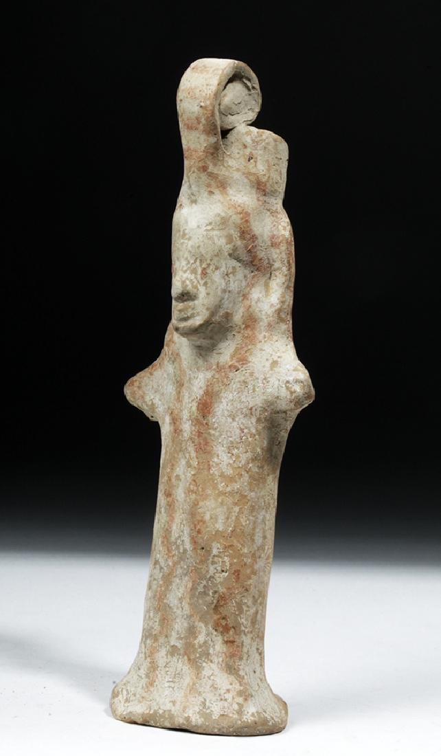 Early Boeotian Pottery Idol - 6th C. BCE - 2