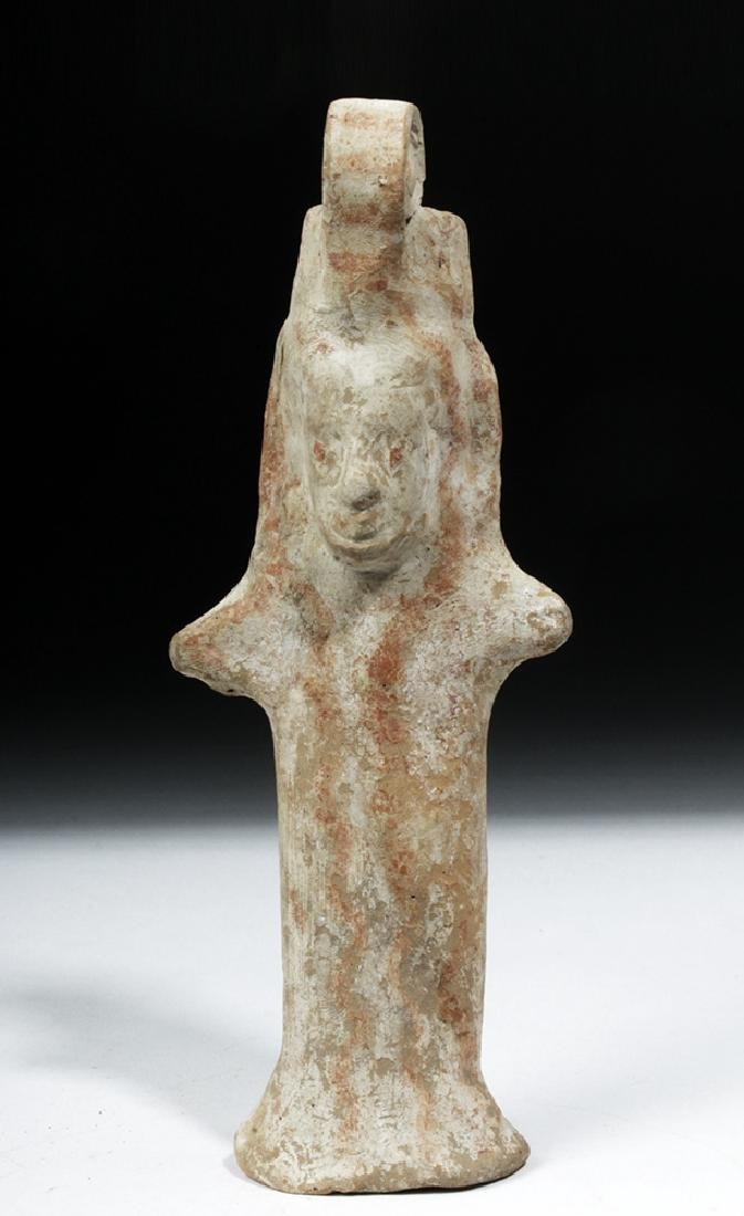 Early Boeotian Pottery Idol - 6th C. BCE - 5