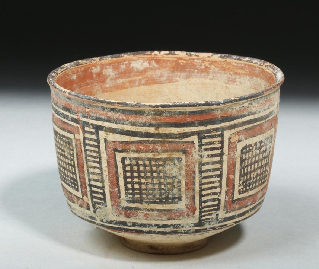 Indus Valley / Harappa Geometric Pottery Bowl - 2