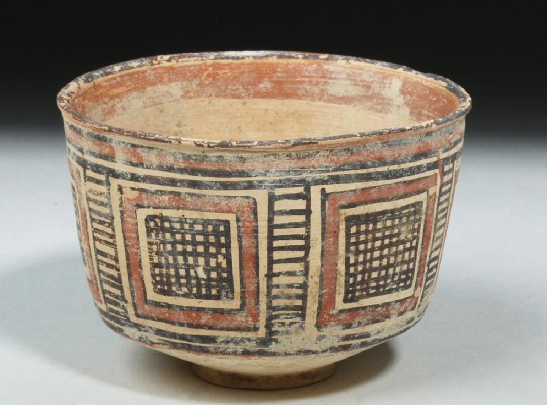 Indus Valley / Harappa Geometric Pottery Bowl - 3