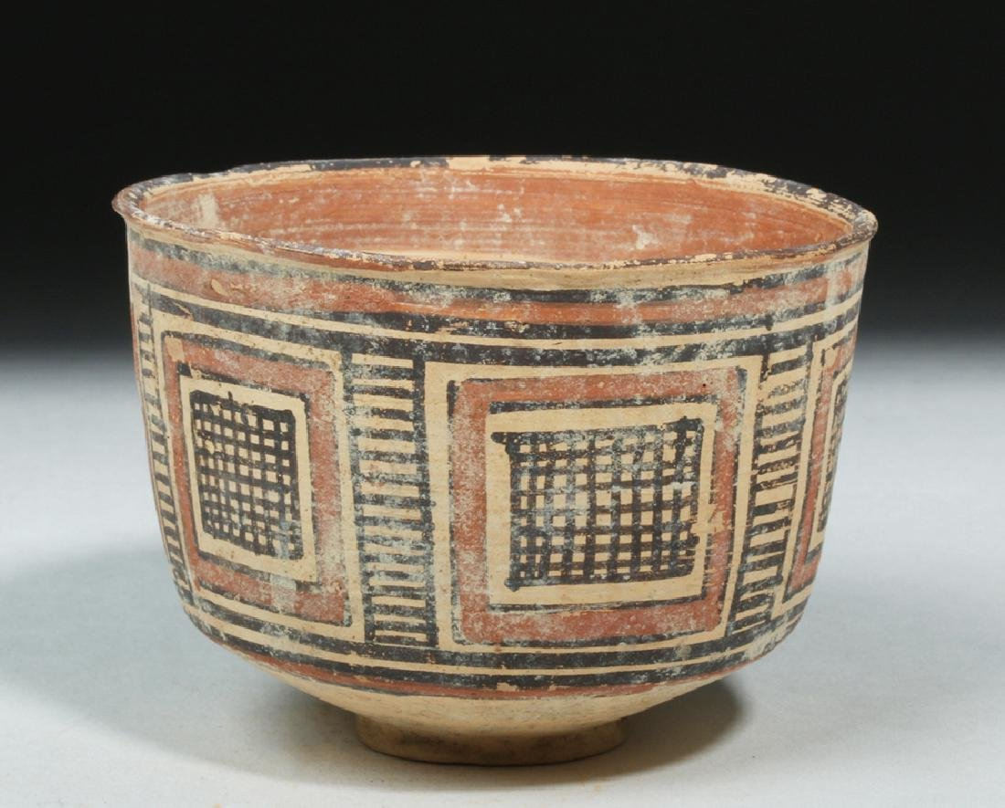 Indus Valley / Harappa Geometric Pottery Bowl - 4