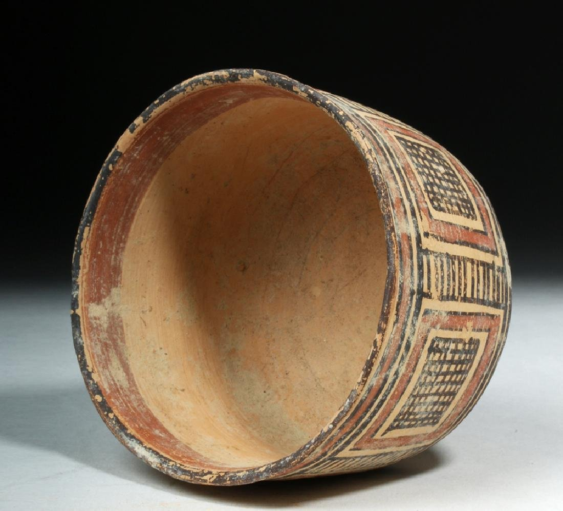 Indus Valley / Harappa Geometric Pottery Bowl - 5