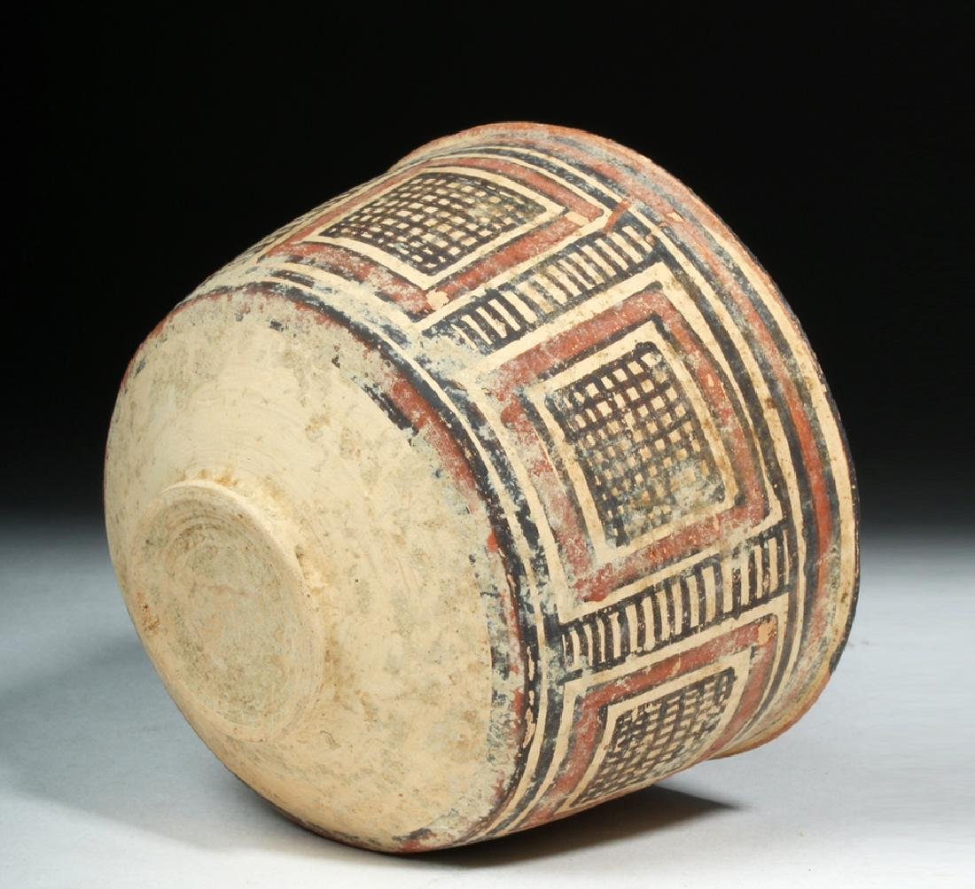 Indus Valley / Harappa Geometric Pottery Bowl - 6