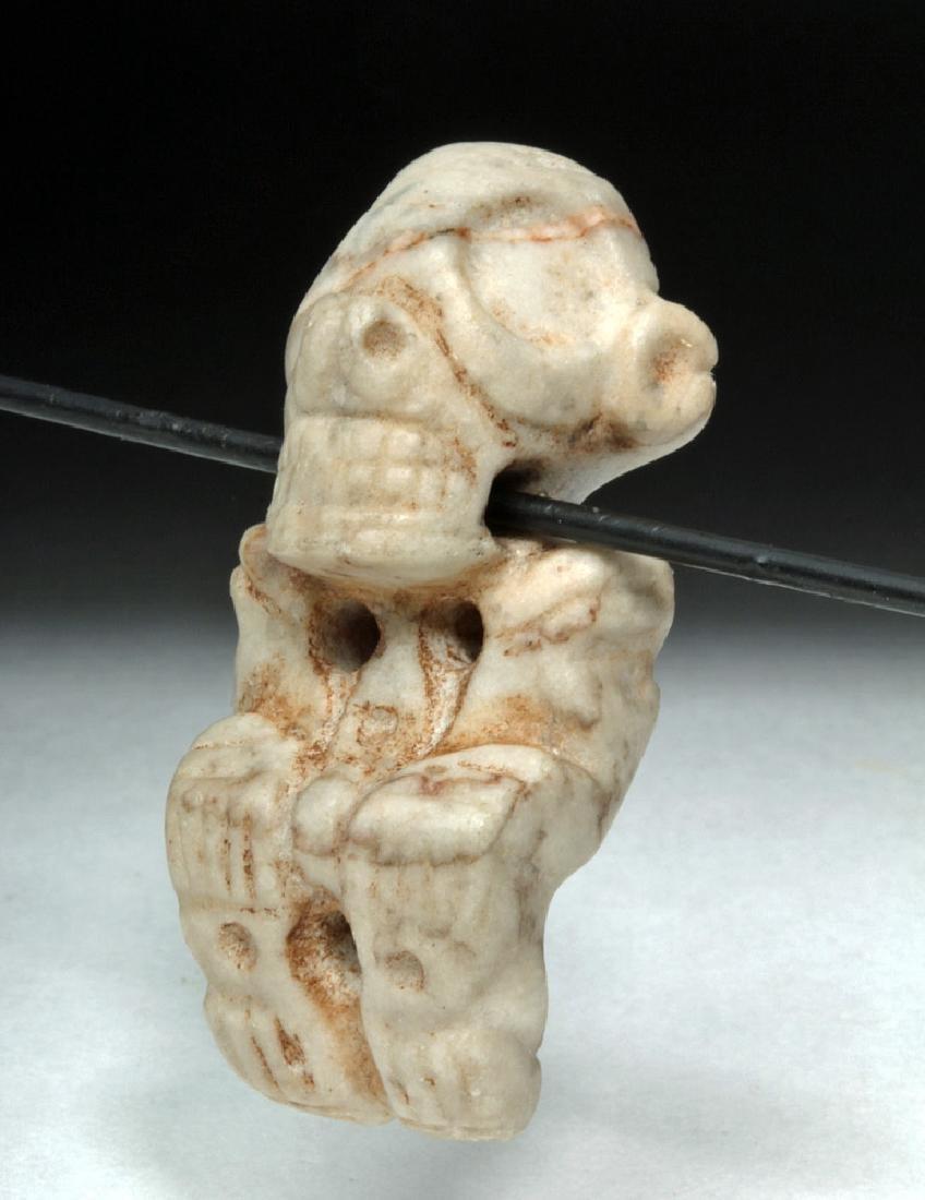 Rare Taino Carved Stone Zemi Amulet