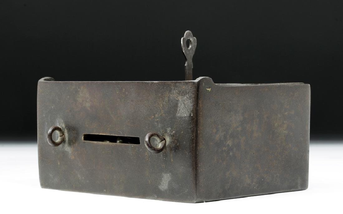 19th C. Metal Bank Lock Box - Ex Historia - 5