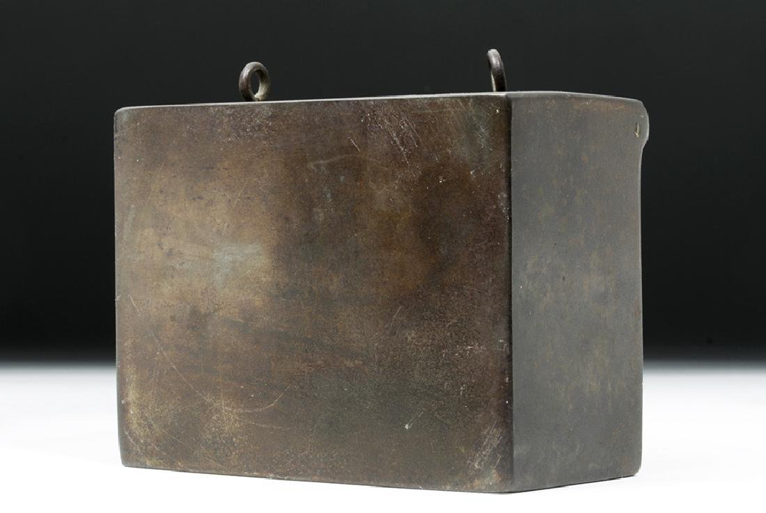 19th C. Metal Bank Lock Box - Ex Historia - 7