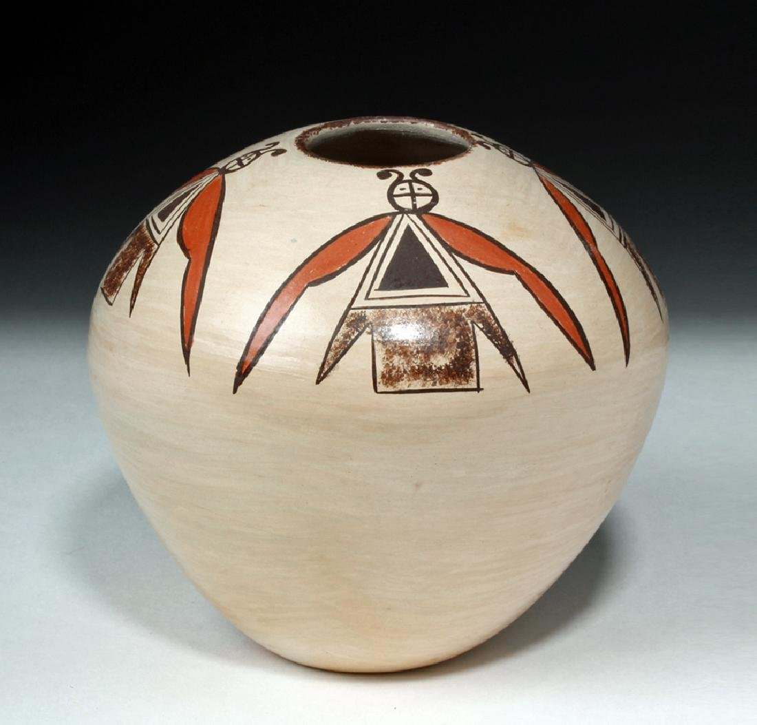 20th c. Hopi Pottery Seed Jar - Adelle T. Nampeyo