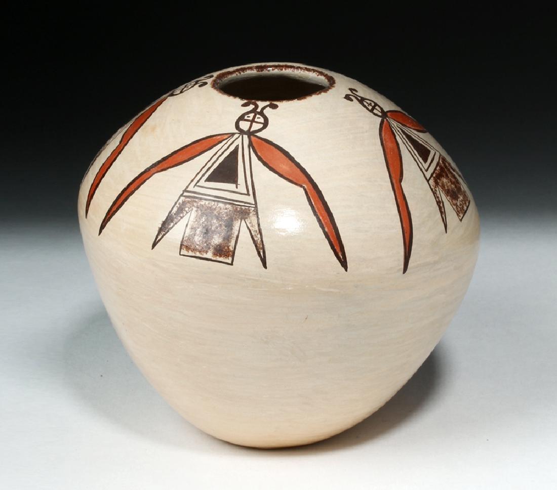 20th c. Hopi Pottery Seed Jar - Adelle T. Nampeyo - 4