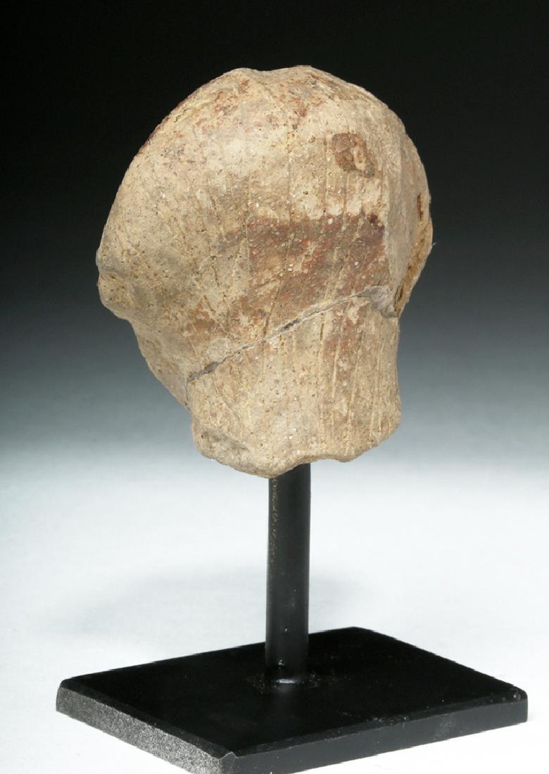 Ancient Vinca Pottery Head - 3
